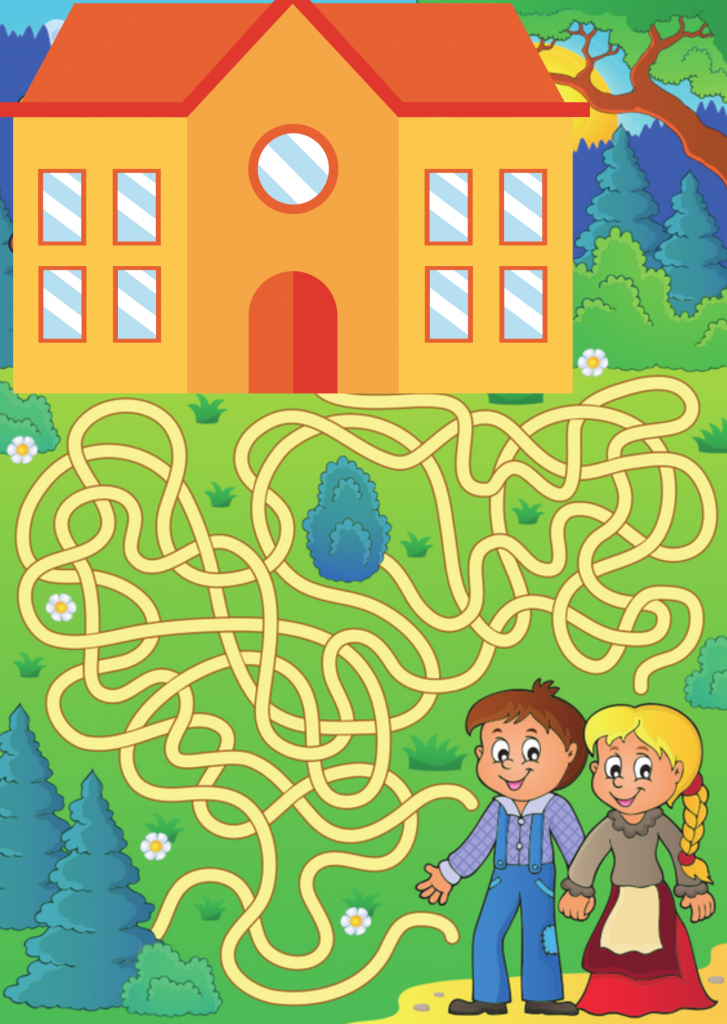 Hansel and Gretel Higher Ed Communication Strategy